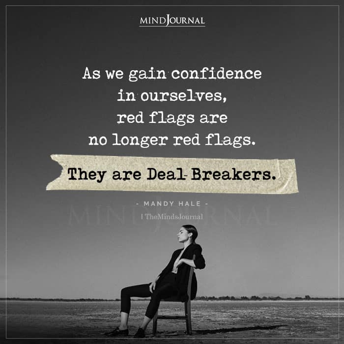 As We Gain Confidence In Ourselves