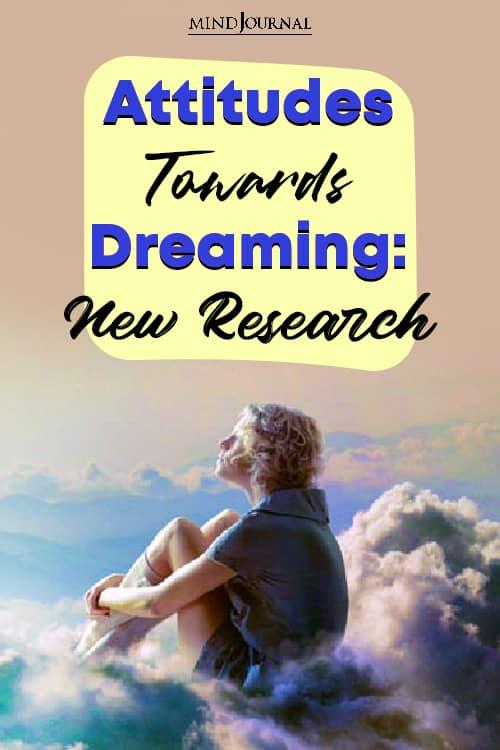 Attitudes Towards Dreaming Pin