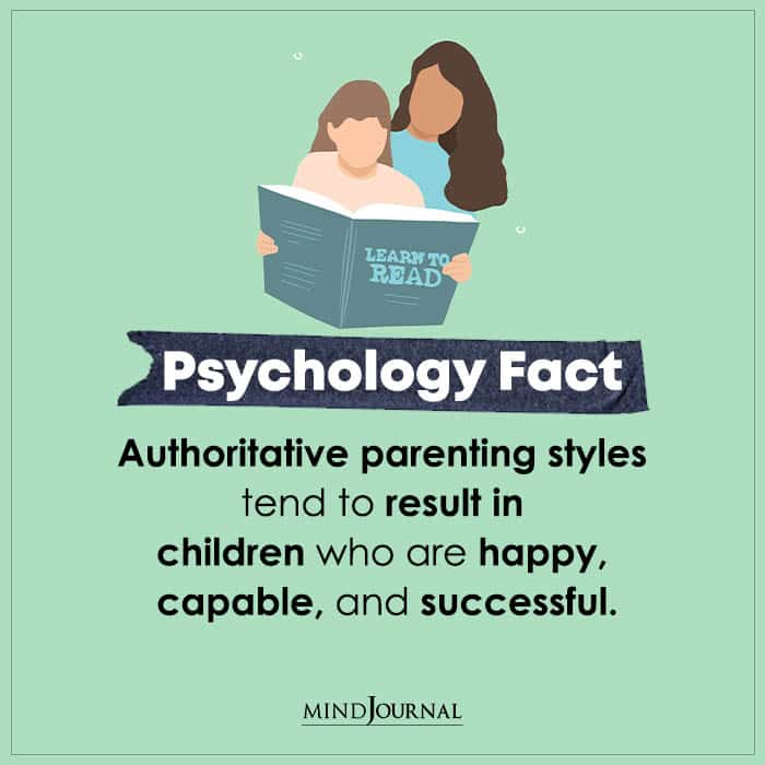 Authoritative Parenting Styles Tend To Result