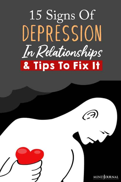Depression In Relationships pin