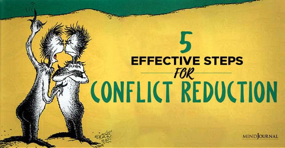 Effective Steps For Conflict Reduction