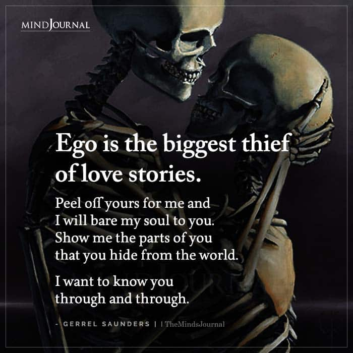 Ego Is The Biggest Thief Of Love Stories