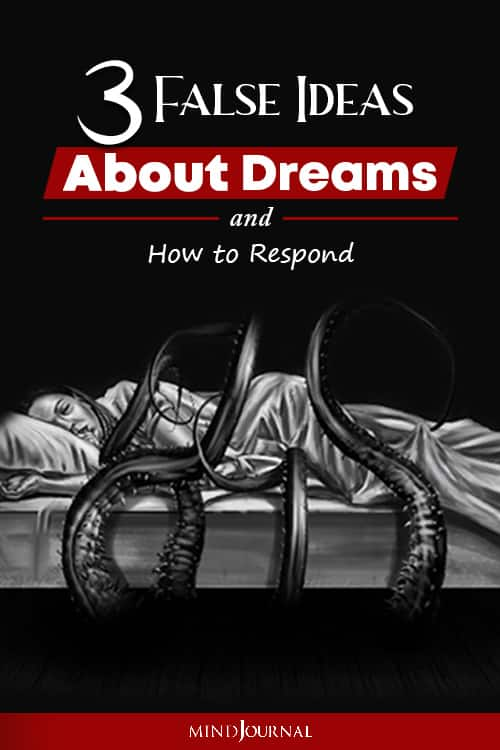 False Ideas About Dreams And How to Respond Pin