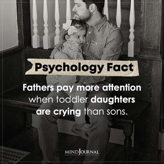 Fathers Pay More Attention When Toddler Daughters