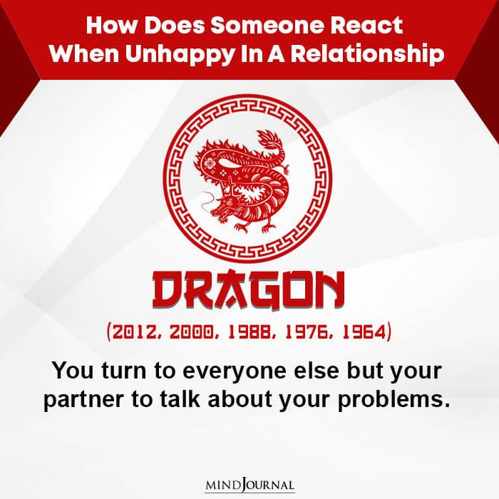 How Does Someone React When Unhappy-Dragon