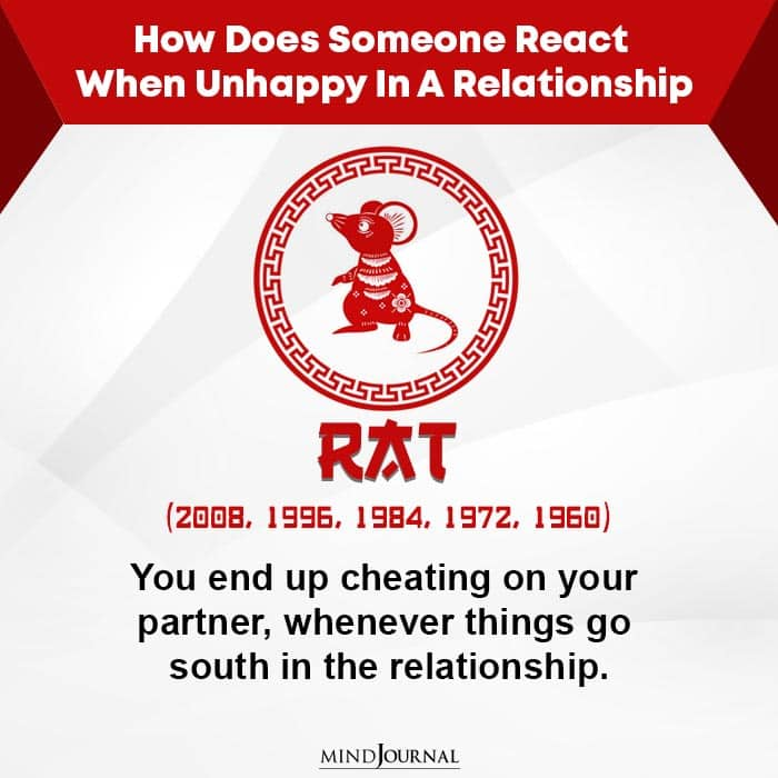 How Does Someone React When Unhappy-Rat