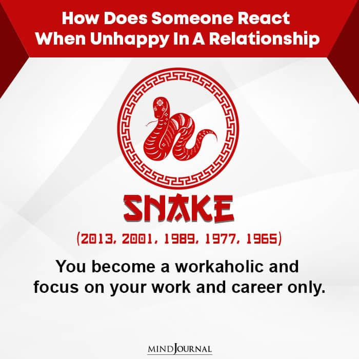 How Does Someone React When Unhappy-Snake