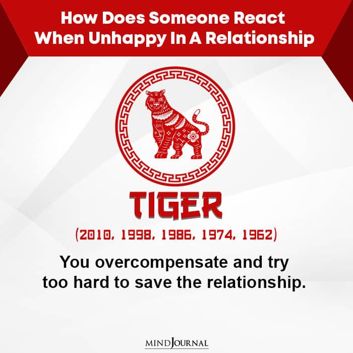 How Does Someone React When Unhappy-Tiger