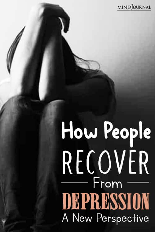 How People Recover From Depression pin