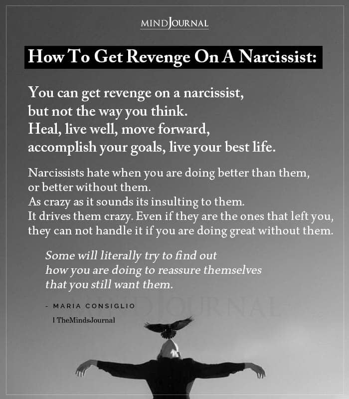 How To Get Revenge On A Narcissist