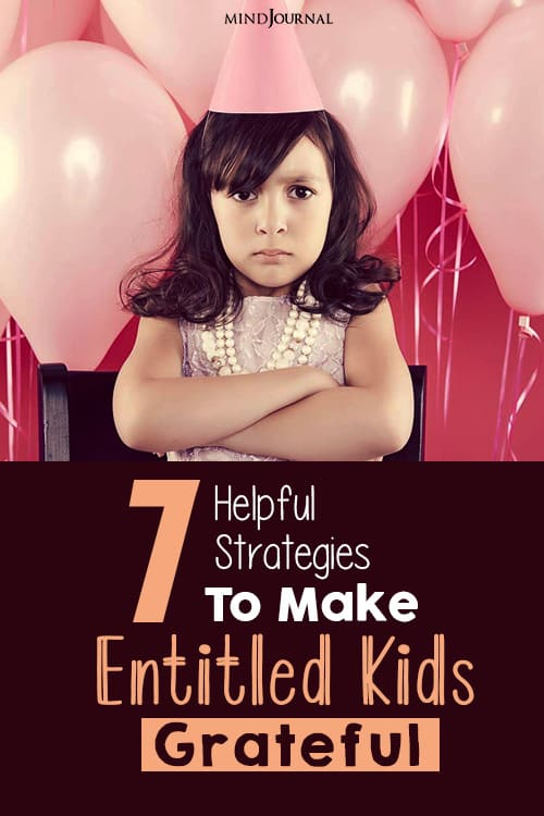 How To Make Entitled Kids Grateful pin one
