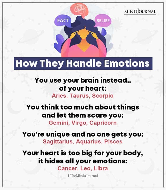 How Zodiac Signs Handle Emotions