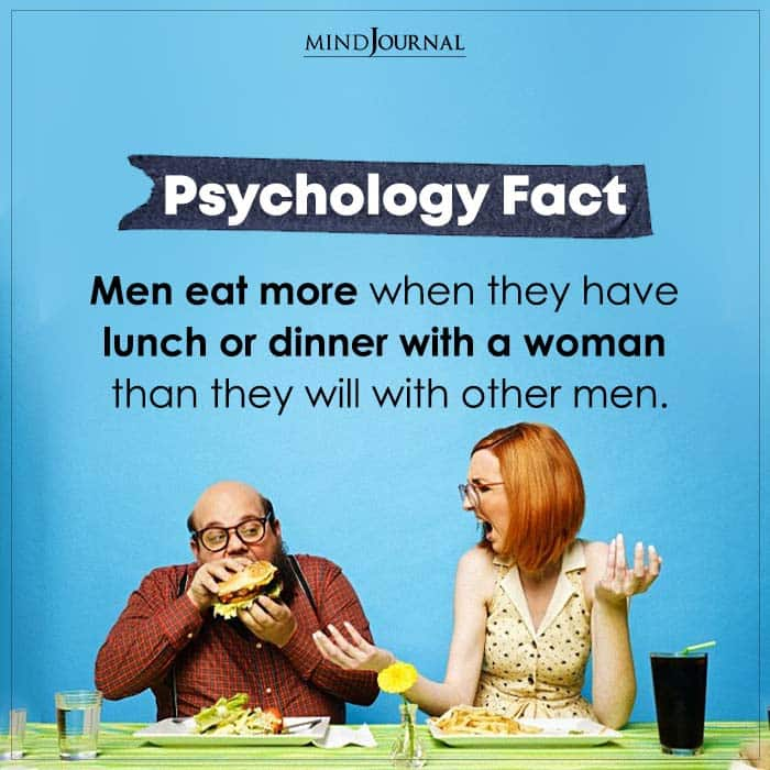 Men Eat More When They Have Lunch
