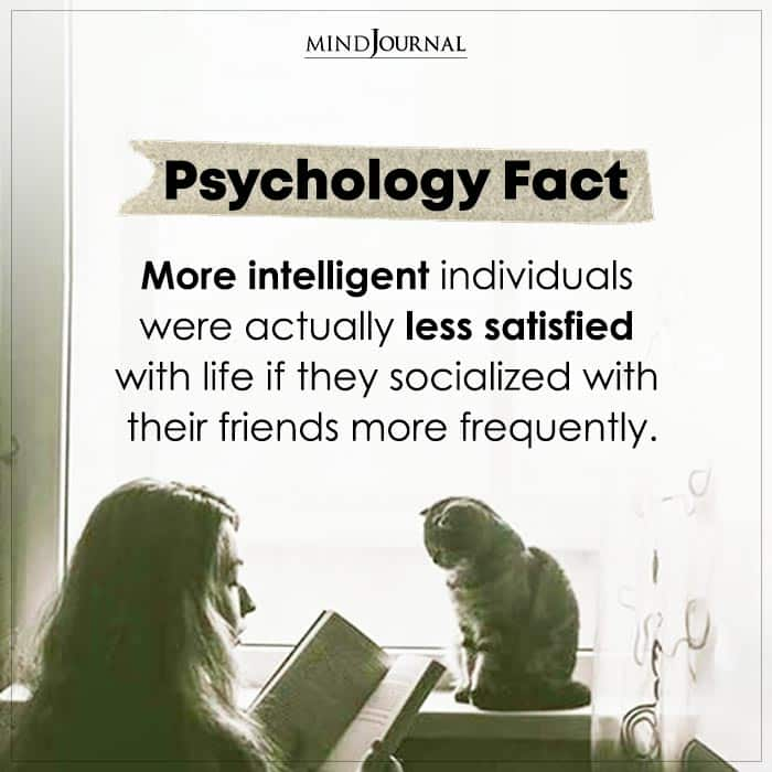 More Intelligent Individuals Were Actually Less Satisfied