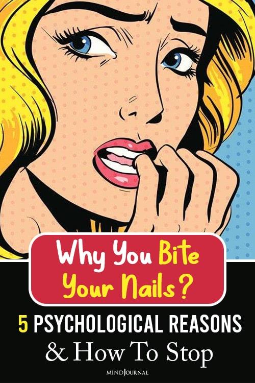 Reasons Nail Biting pin