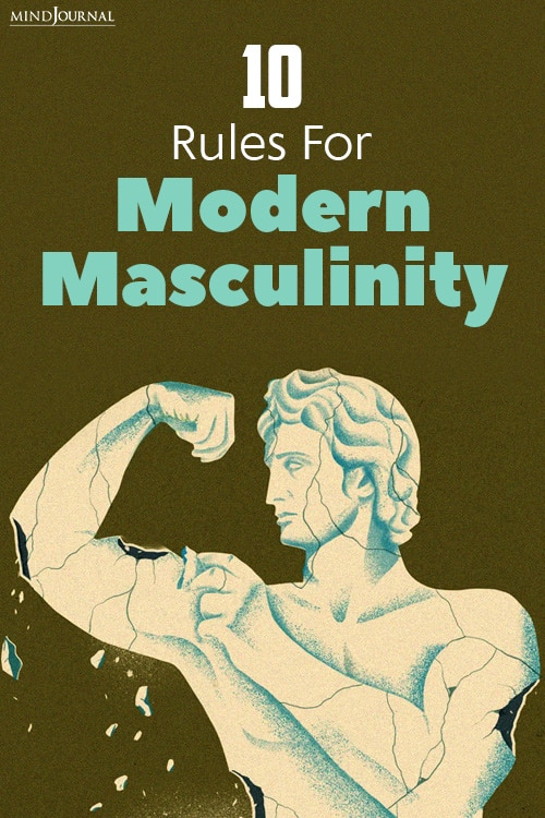 Rules For Modern Masculinity pin