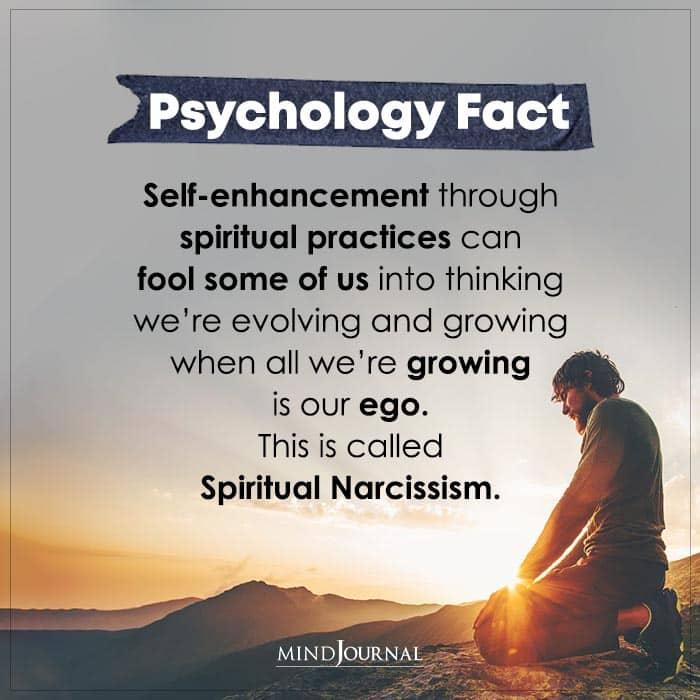 Self enhancement Through Spiritual Practices Can Fool