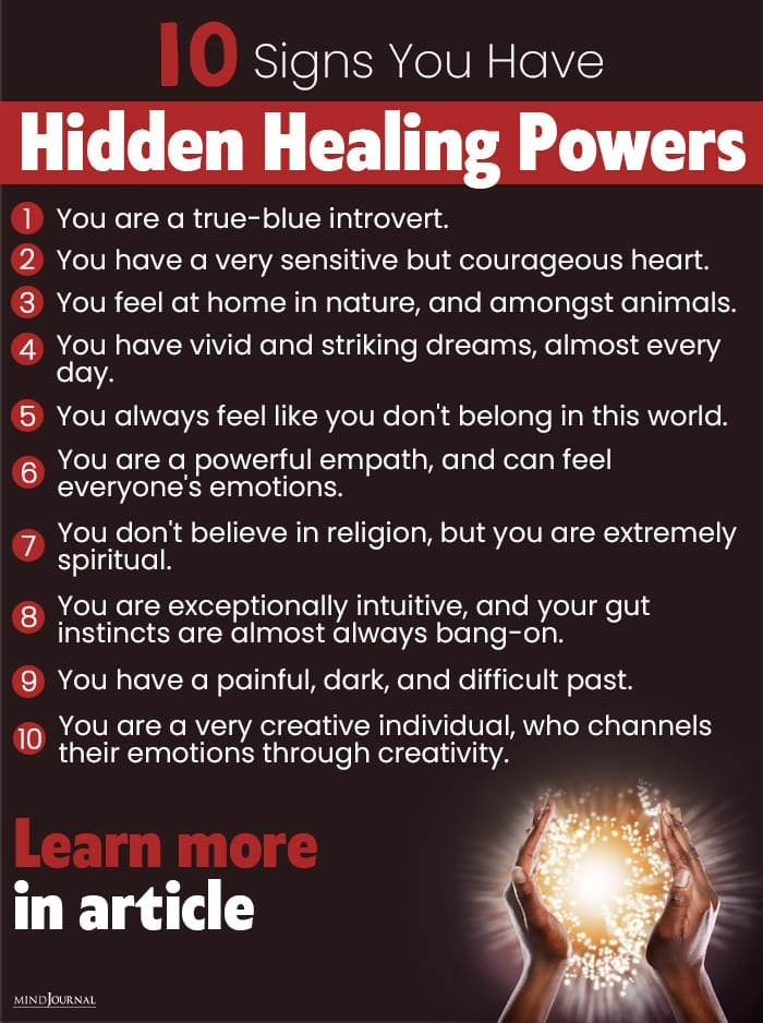 Signs You Have Hidden Healing Powers info