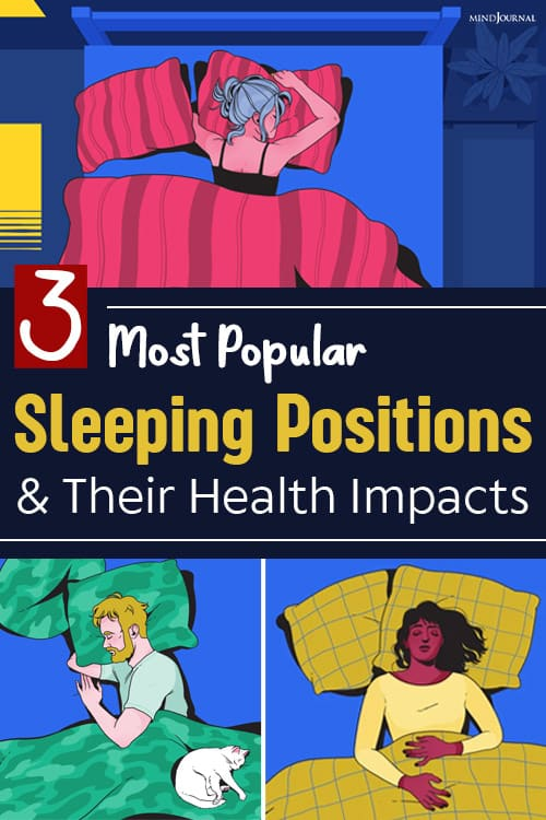 The Most Popular Sleeping Positions pin