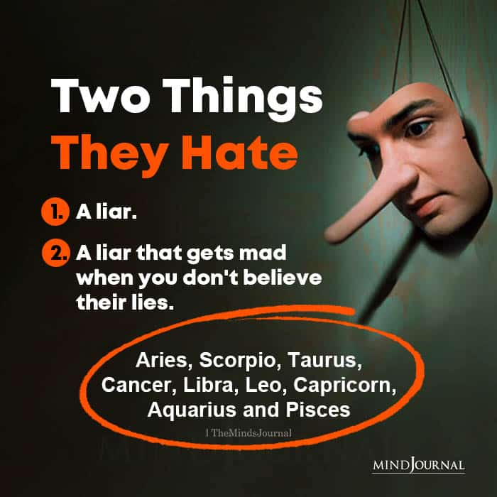 Two Things They Hate