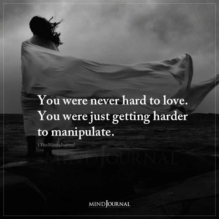 You Were Never Hard To Love