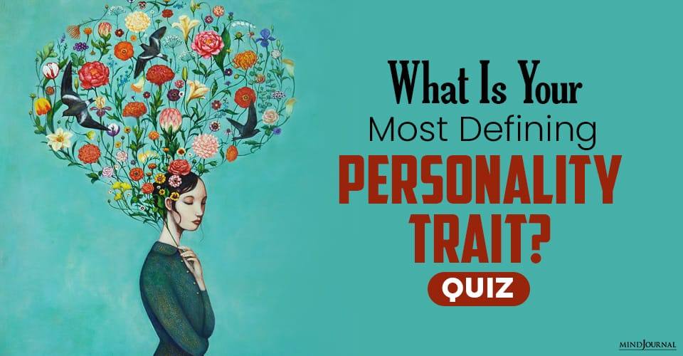Your Most Defining Personality Trait