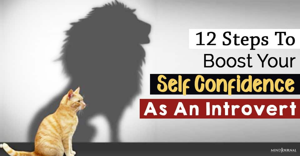 boost your self confidence as an introvert