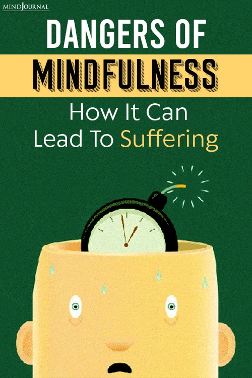 dangers of mindfulness pin suffering