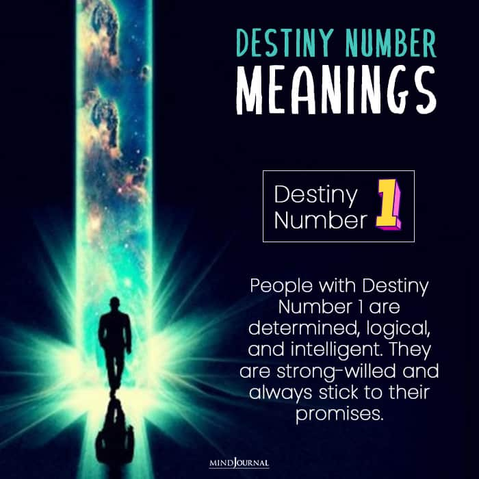 destiny number one