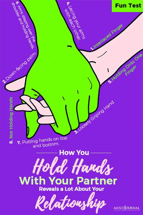 how you hold hands with your partner revealsa lot pin