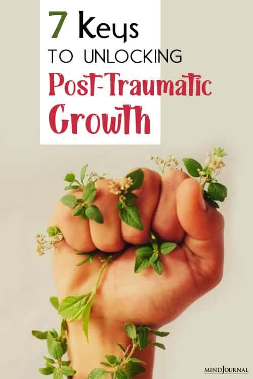 keys to unlocking posttraumatic growth trauma pin