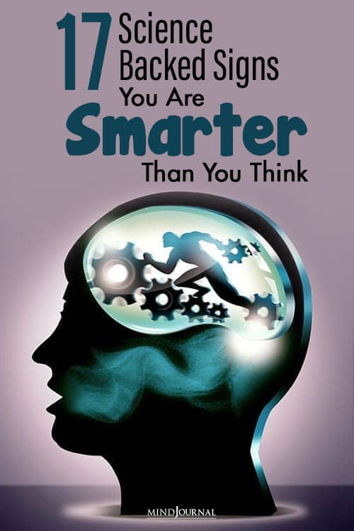 reason you are smart then you think pinop