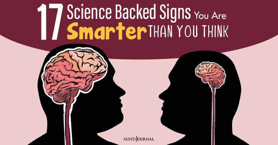 reason you are smart then you think