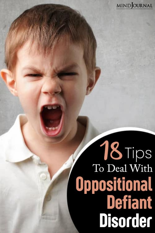 signs of symptoms of oppositional defiant disorder pin