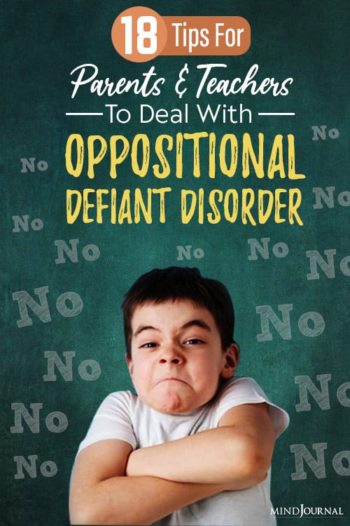 signs of symptoms of oppositional defiant disorder pinop