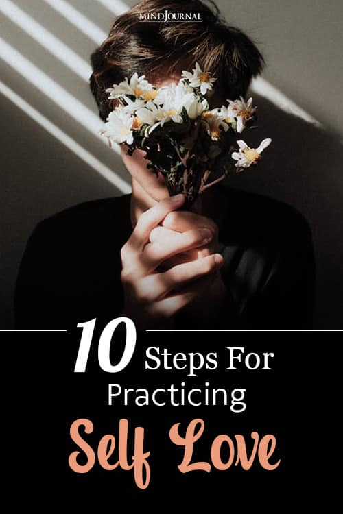 steps for practicing self love pin