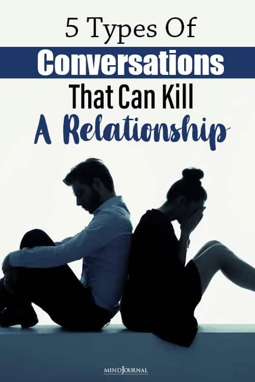 types of conversations that can kill a relationship pin