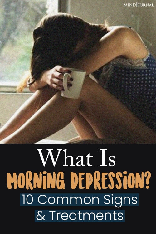 what is morning depression pin