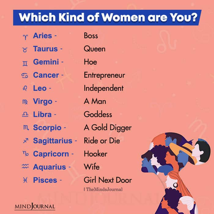 which kind of women are you