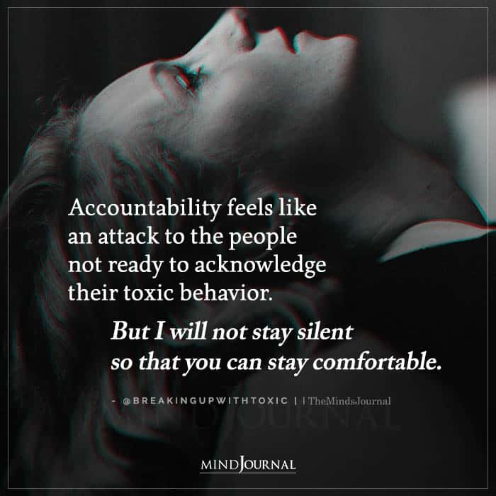 Accountability Feels Like an Attack to the People