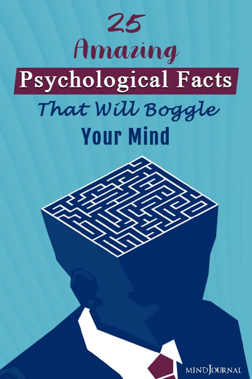 Amazing Psychological Fact Boggle Mind PIN