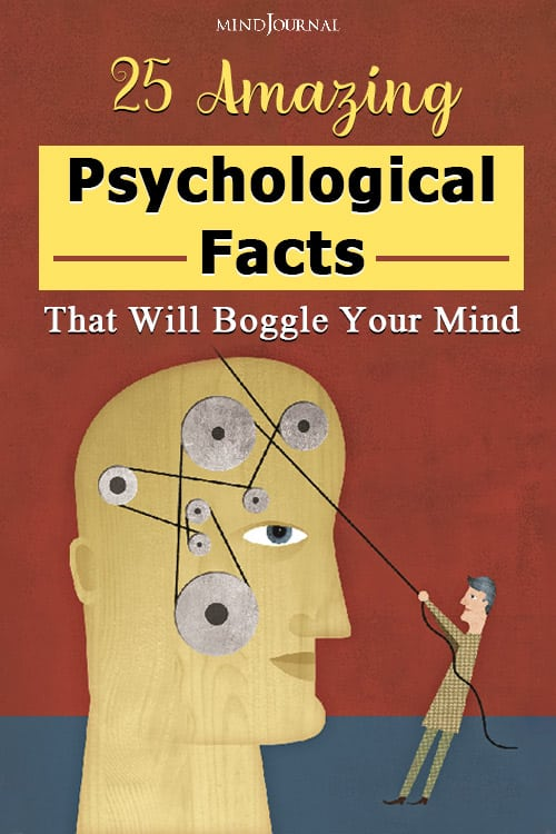 Amazing Psychological Facts Boggle Mind PIN