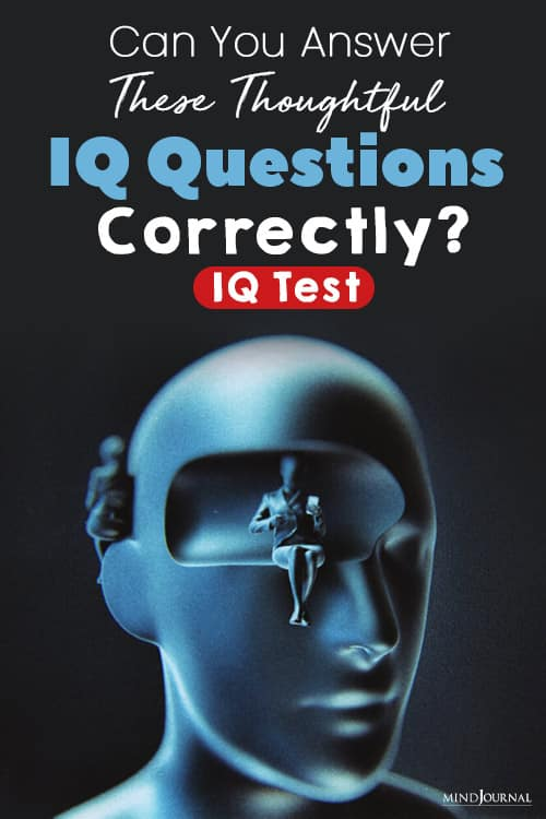 Answer These Thoughtful IQ Questions Correctly pin