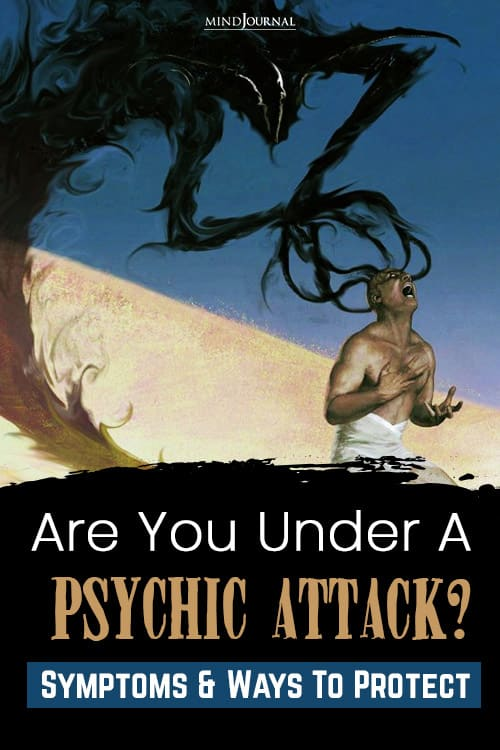 Are You Under A Psychic Attack pin