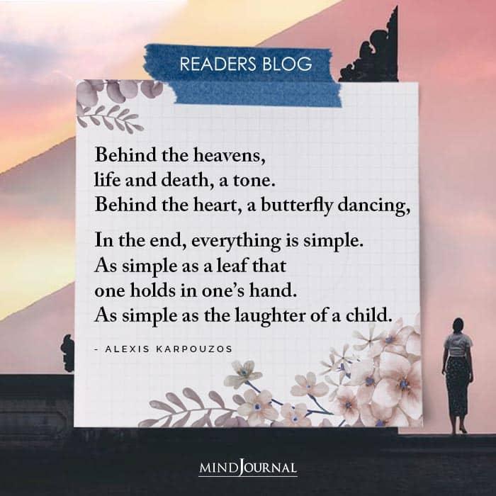 Behind The Heavens
