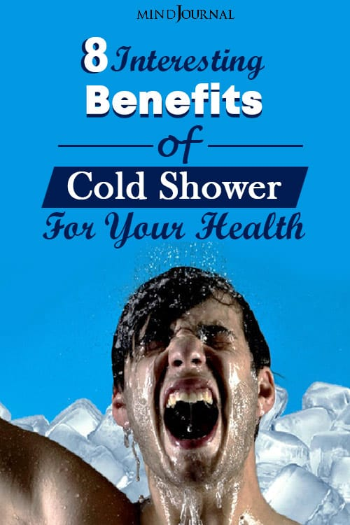 Benefits of Cold Shower Health pin