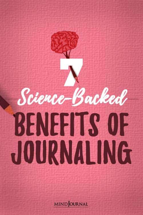 Benefits of Journaling pin