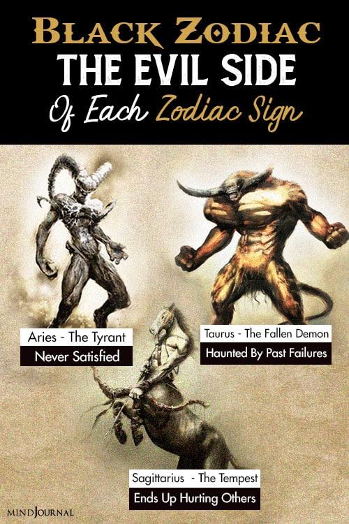 Black Zodiac evil pin one