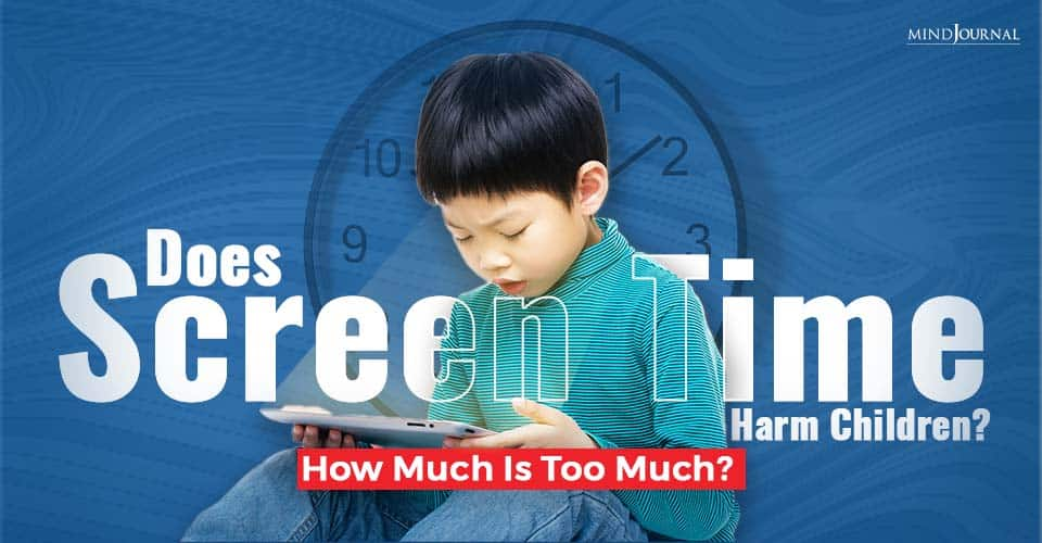 Does Screen Time Harm Children