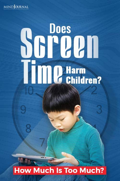 Does Screen Time Harm Children PIN